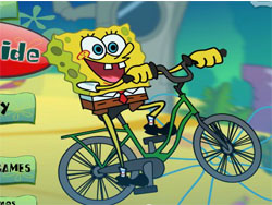 juego Bob Esponja en Bicicleta