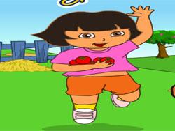 juego Dora la Exploradora Cuidando la Fruta