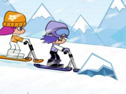 juego Hi Hi Puffy Ami Yumi En La Nieve