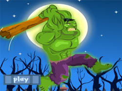 juego Hulk Destruyendo Autos