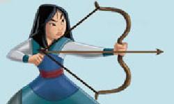 juego Arco y Flecha con Mulan
