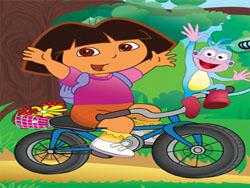 juego Dora la Exploradora en Bicicleta