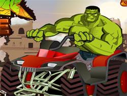 juego Hulk en Motocicleta
