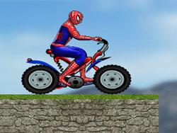 juego Spiderman en Motocicleta