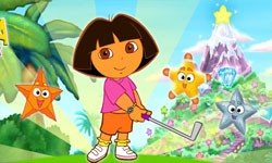 juego Minigolf Junto a Dora la Exploradora